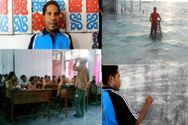 Impian Guru Perbatasan Jonathan Fakdawer
