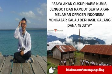 #Tantangan17an Indonesia Mengajar - Gading Aulia