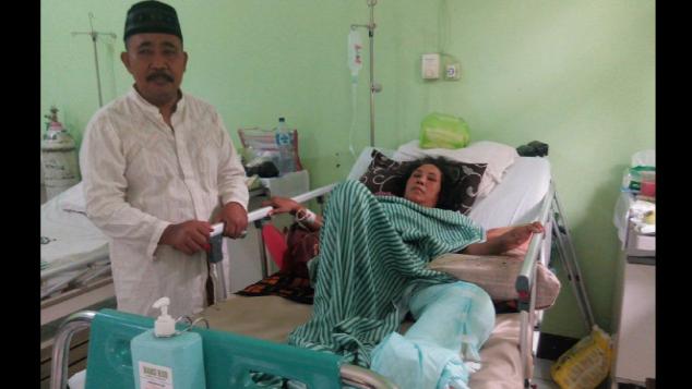 Bantu Bu Siti Operasi akibat Terlindas Truk