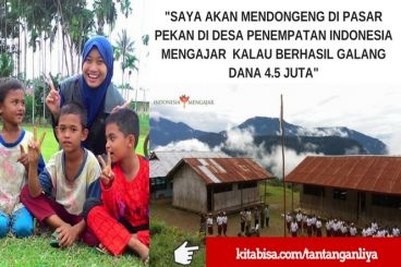 #Tantangan17an Indnesia Mengajar - Liya