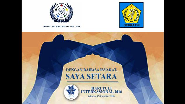 Hari Tuli Internasional 2016