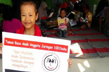 Support Komunitas 1001buku