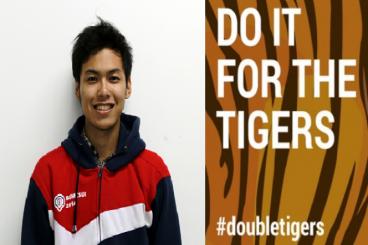 #DoubleTigers - Kibarkan Bendera di Puncak Gunung