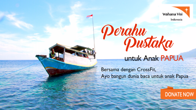 #OBWJKT - Perahu Pustaka untuk Anak Papua