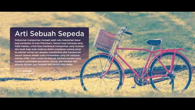 Arti Sebuah Sepeda