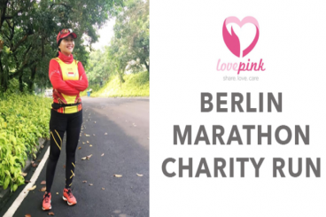 Berlin Marathon untuk Lovepink - Medias Oktaviani