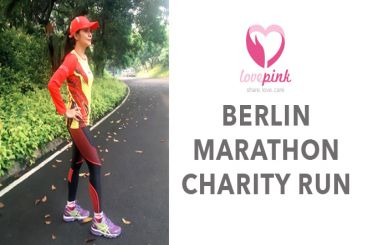 Berlin Marathon untuk Lovepink - Shinta Soenardji