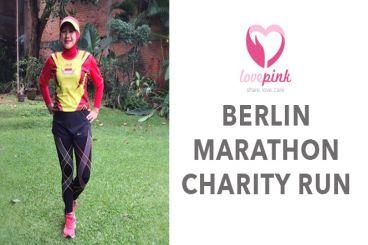 Berlin Marathon untuk Lovepink - Dhiana