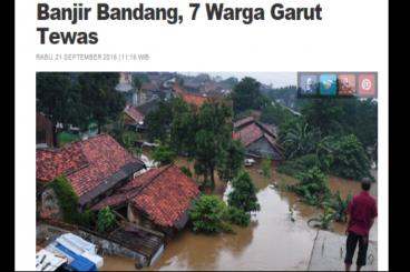 ILUNI FE UI Peduli Banjir Garut