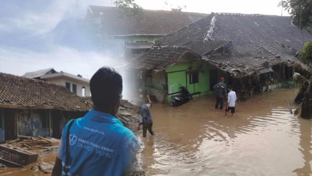 Peduli Banjir Longsor di Garut dan Sumedang Jabar