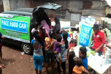 Free Food Car Butuh Mobil dan Operasional