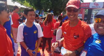#NusantaRun 4 Charity - Aat
