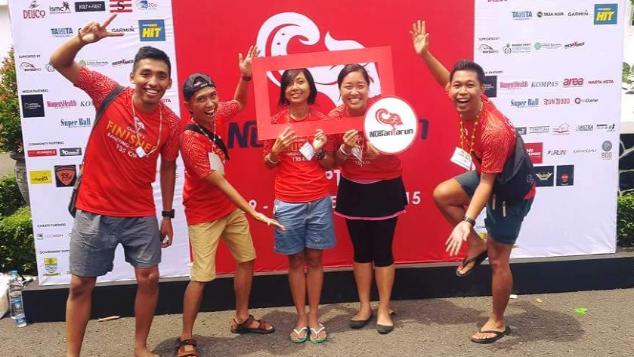 #NusantaRun 4 Charity - Angela