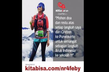 #NusantaRun 4 Charity - FEBY