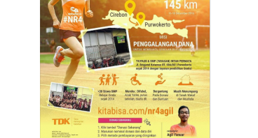 #NusantaRun 4 Charity - Agil
