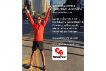 #NusantaRun 4 Charity - Donny