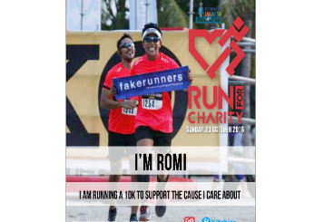Romi Yulianto Run For Charity