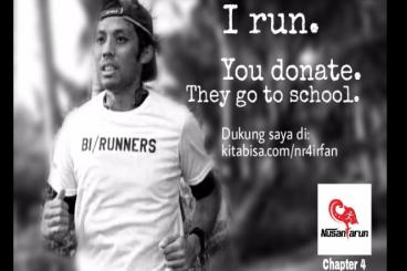 #NusantaRun 4 Charity - Irfan