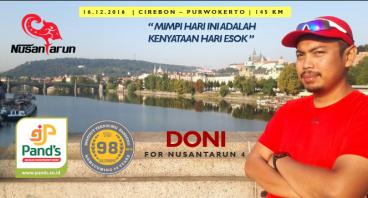 #NusantaRun 4 Charity - Doni Amar