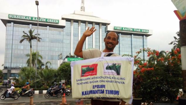 Dukung Pak Sam Dongeng Keliling Kalimantan