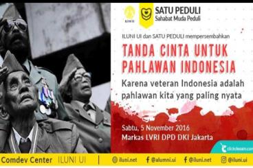 Tanda Cinta untuk Pahlawan Indonesia