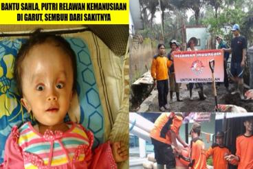 Bantu Sahla Putri Relawan Garut