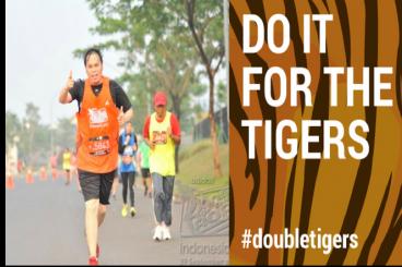 #DoubleTigers -  race 21Km untuk Harimau Sumatera