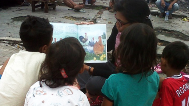 Taman Baca memberi harapan anak-anak kurang mampu