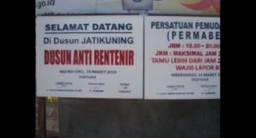 Bantu Dusun Ini Bebas dari Rentenir
