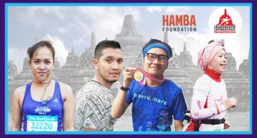 Lari untuk Yayasan Hamba - Evie