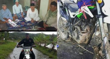 Wakaf Motor Trail untuk Da'i kaki Gunung Halimun