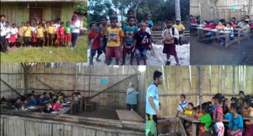 Galang dana anak sekolah daerah3T wewewa barat NTT