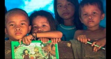 Donasi Untuk Sekolah Adat di Kalimantan Utara