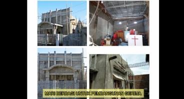 Mari Berbagi Untuk Pembangunan Gereja