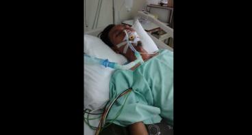 Bantu Budiyono yang Sedang dalam perawatan ICU