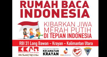 Rumah Baca Indonesia (RBI) Ke-31 Long Bawan