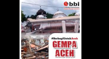 Berbagi untuk Gempa Aceh