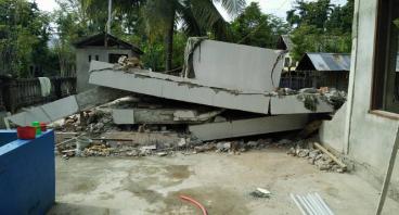 Tempat Wudhu Untuk Korban Gempa Aceh