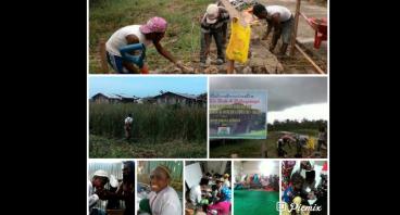 Pembangunan Madrasah di Kurwato Kokoda Papua Barat