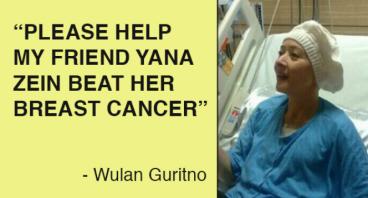 Urgent! Help my friend Yana Zein fight cancer