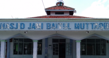 Renovasi Masjid Jami' Baitul Muttaqiin