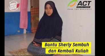 Bantu Sherly untuk Sembuh dan Kembali Kuliah