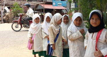 Sedekah untuk Muslim Cham Kamboja