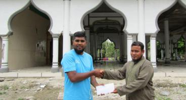 Masjid Baitus Sa'adah Roboh akibat Gempa 2016