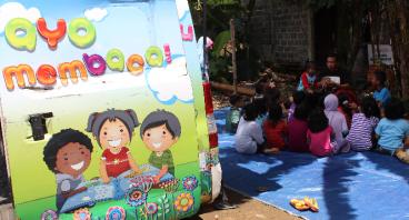 Bantu Perpustakaan Keliling Bojonggede Kab.Bogor