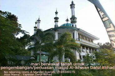 Wakaf Tanah Masjid Al-Ikhwan