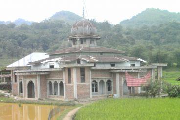 Renovasi masjid Baiturrahman nagari kandang baru