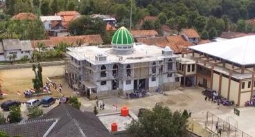 Pembangunan Masjid Al Munawaroh SMKN 3 Kuningan