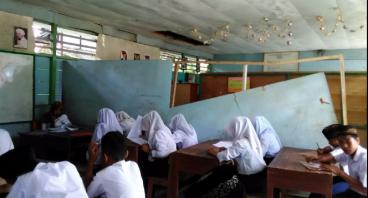 Peduli Dunia Pendidikan pembangunan gedung belajar