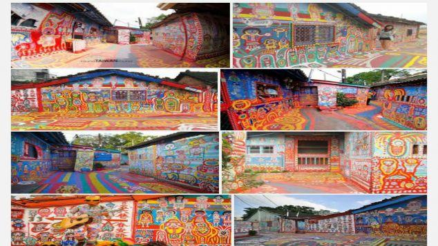 Ekowisata kampung warna warni K.Aur Medan